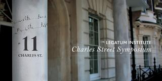 Call For Applications: 2012 Charles Street Symposium