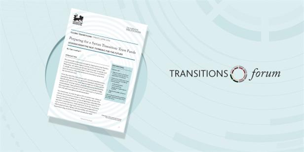 Preparing for a Syrian Transition: Trust Funds (Memo)