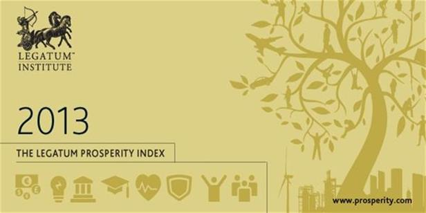 2013 Legatum Prosperity Index™: Global Prosperity Rising While US and UK Economies Decline