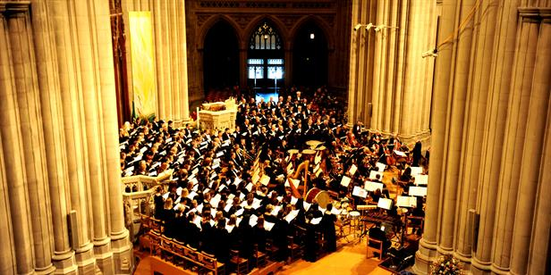 At Washington National Cathedral, Music Fit For A Queen