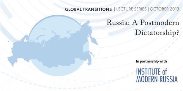 Russia: A Postmodern Dictatorship?