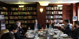 Lunch Discussion with Democracy Lab Venezuela Blogger, Daniel Lansberg-Rodríguez