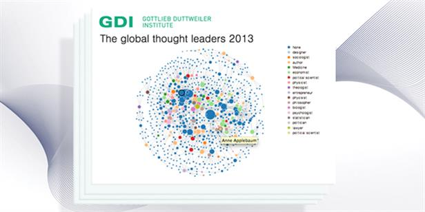 Anne Applebaum Ranked 27th on 2013 Global Thought Leaders List