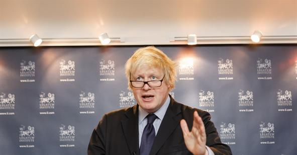 Boris Johnson Launches the Legatum Institute's Prosperity for All Project