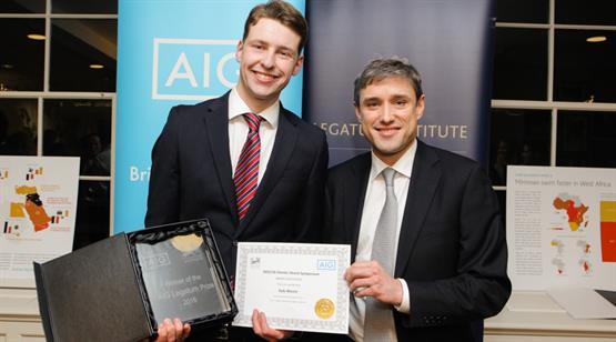 Life Starts at 70—AIG Legatum Prize