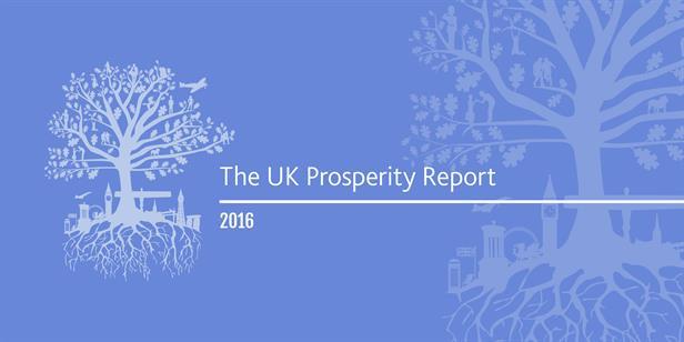 2016 UK Prosperity Index
