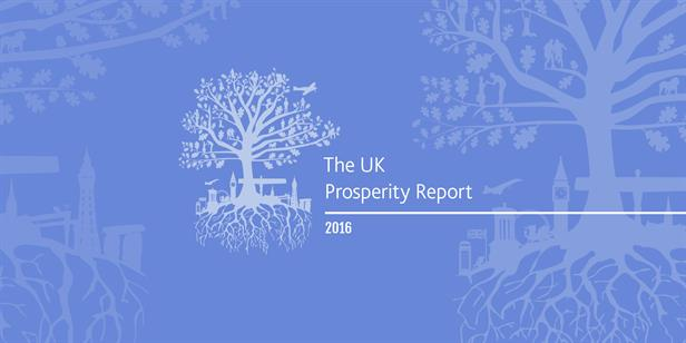 2016 UK Prosperity Index