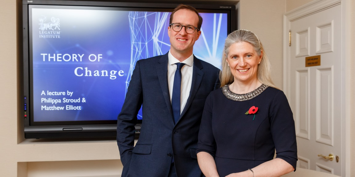 Philippa Stroud and Matthew Elliott set out a theory to deliver transformational change
