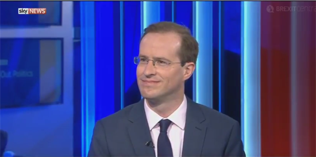 Matthew Elliott discusses the French election on Sky News