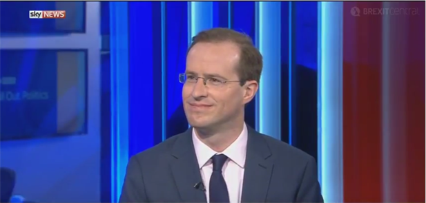 Matthew Elliott on Sky News discussing the Dutch election results.