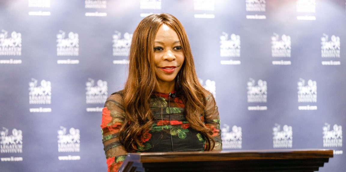 Dambisa Moyo - we need courage if we are to succeed in making democracies more effective and accountable