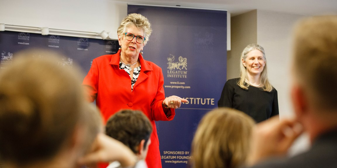 Prue Leith CBE shared her approach to ethics in business