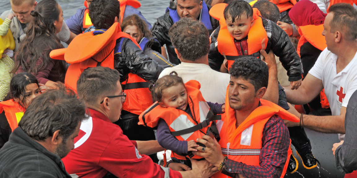 Refugees, particularly unaccompanied children, face unacceptable risks in their efforts to reach safety