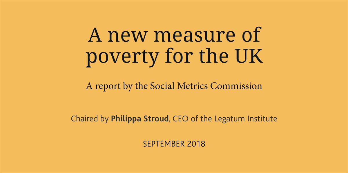 Social Metrics Commission launches a new measure of UK poverty